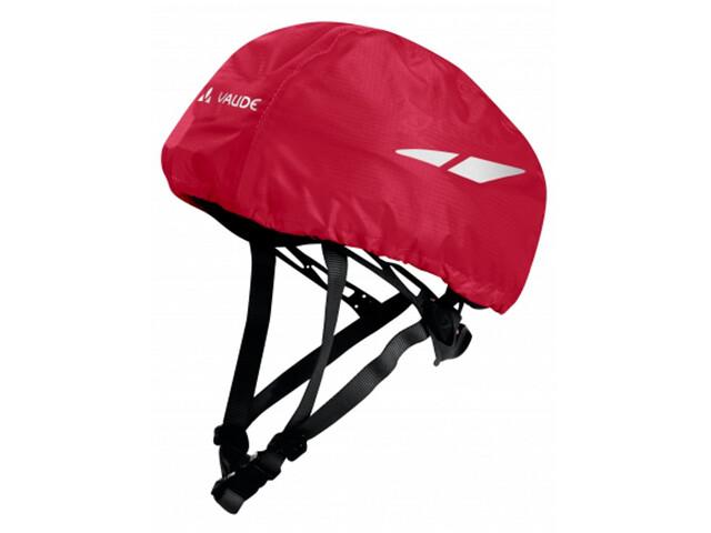 VAUDE Helmet Raincover Kids indian red